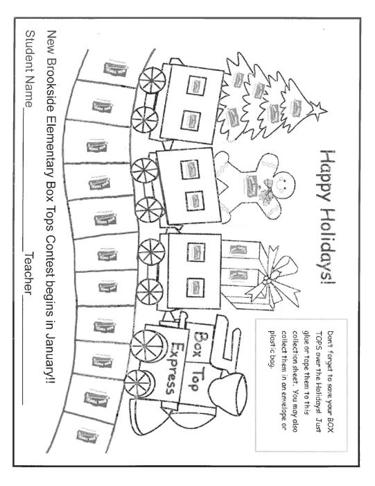 Winter Box Top Form : School - school -