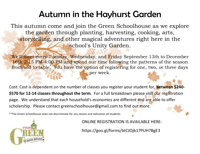 Click the flyer below to view all pages. After School Garden Club   Other   school
