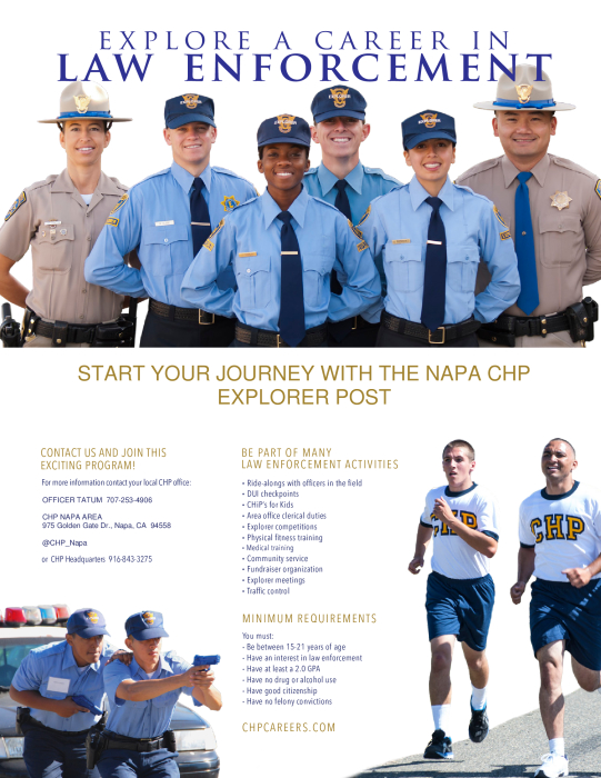 Napa CHP Explorer Program : Other - school -