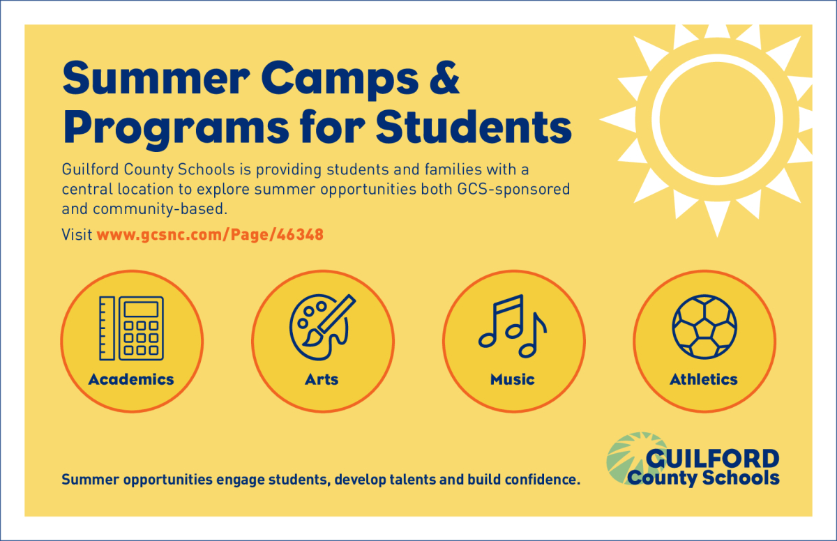 Image of a flyer titled Summer Courses