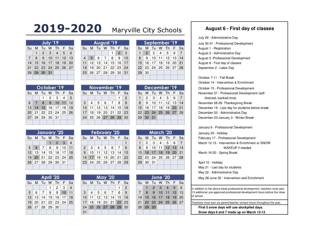 Ecisd Calendar 2020 SchoolPeachjar