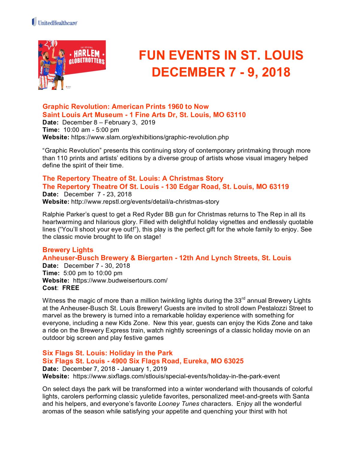 Christmas Events In St Louis 2019 Peachjar Flyers