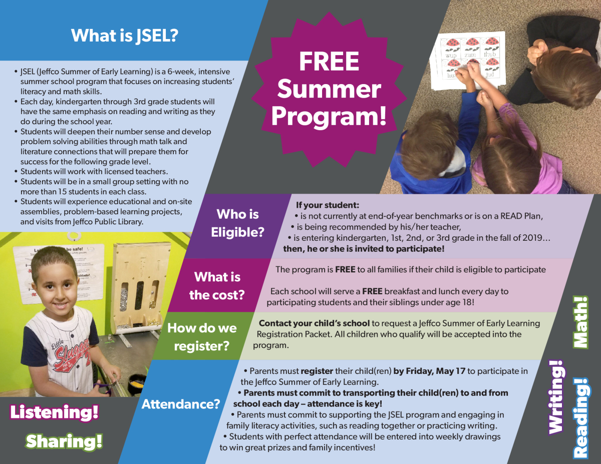 Jeffco Summer of Early Learning