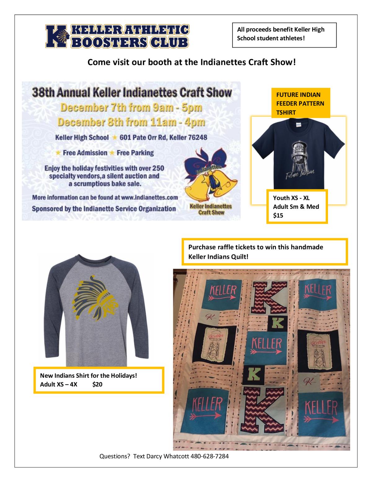 Keller Indianette 2020 Christmas Craft Fair Peachjar   Page 70