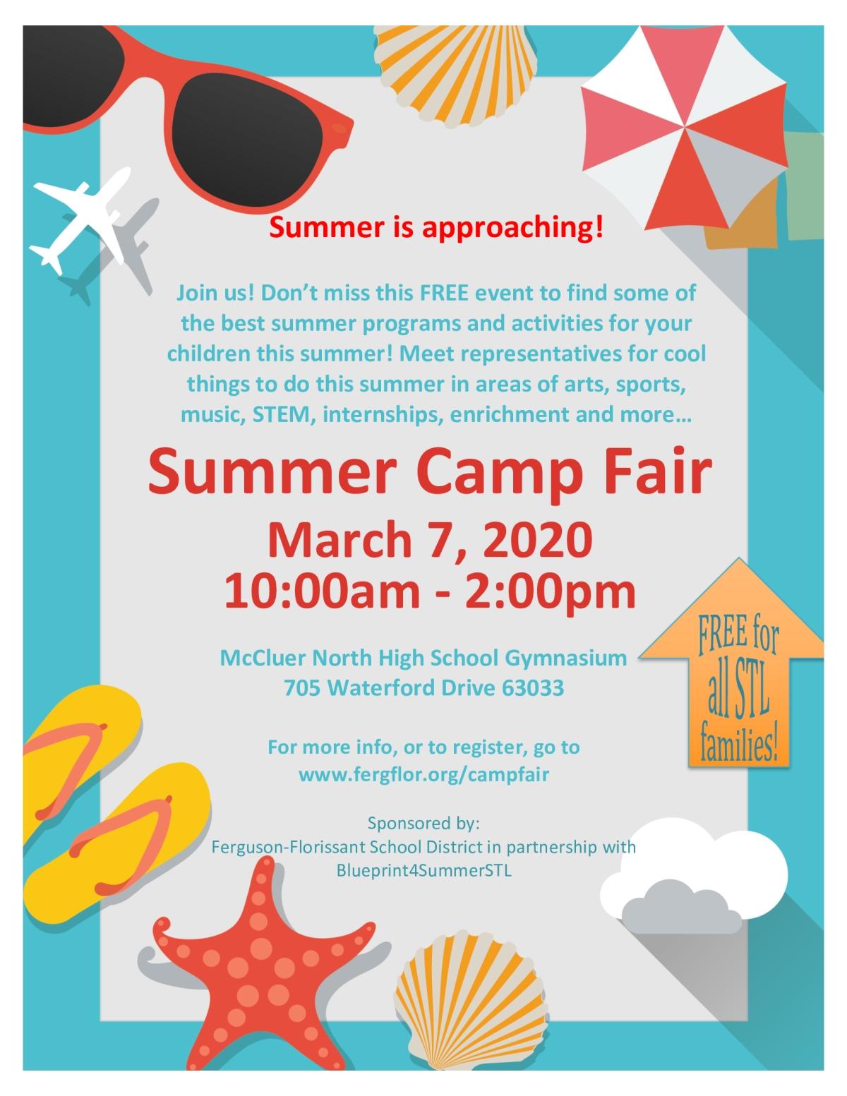 free summer camp 2020