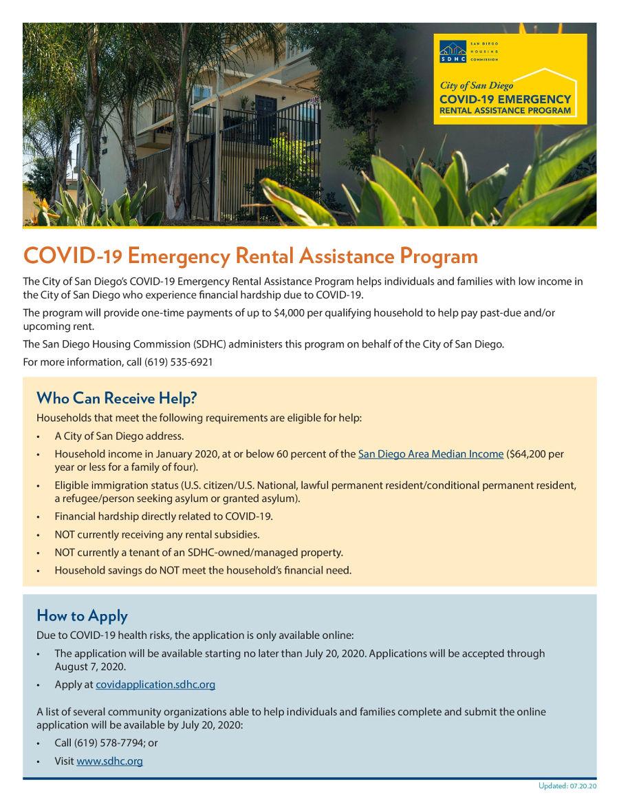 Covid 19 Emergency Rental Assistance Program